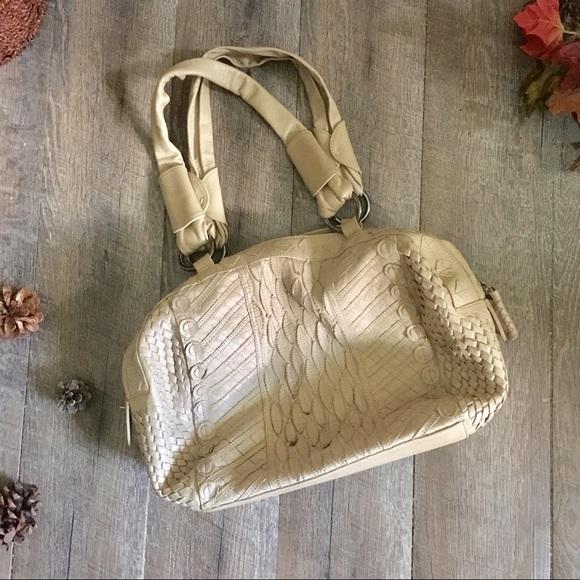David & Scotti Handbags - DAVID & SCOTTI Genuine Leather Hobo Oversized Bag
